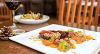 """February/March 2015 Chefs let their imaginations run wild as Maine Restaurant Week stretches to two weeks–March 1 to 14.<!-- AddThis Sharing Buttons below --><!-- AddThis Sharing Buttons below -->                 <div class=""""addthis_toolbox addthis_default_style addthis_"""" addthis:url='http://www.portlandmonthly.com/portmag/2015/02/delicious-risks/' addthis:title='Delicious Risks' >                     <a class=""""addthis_button_preferred_1""""></a>                     <a class=""""addthis_button_preferred_2""""></a>                     <a class=""""addthis_button_preferred_3""""></a>                     <a class=""""addthis_button_preferred_4""""></a>                     <a class=""""addthis_button_compact""""></a>                     <a class=""""addthis_counter addthis_bubble_style""""></a>                 </div>"""