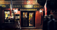 """February 2015 <em>Bonheur </em>on Wharf Street Follow the cobblestones to the city <em>crêperie.</em> Wharf Street in Portland is magical on this night as we cross the cobblestones, casting…<!-- AddThis Sharing Buttons below --><!-- AddThis Sharing Buttons below -->                 <div class=""""addthis_toolbox addthis_default_style addthis_"""" addthis:url='http://www.portlandmonthly.com/portmag/2015/02/the-merry-table/' addthis:title='The Merry Table' >                     <a class=""""addthis_button_preferred_1""""></a>                     <a class=""""addthis_button_preferred_2""""></a>                     <a class=""""addthis_button_preferred_3""""></a>                     <a class=""""addthis_button_preferred_4""""></a>                     <a class=""""addthis_button_compact""""></a>                     <a class=""""addthis_counter addthis_bubble_style""""></a>                 </div>"""