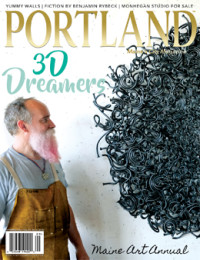 Art&Style 49 Maine Sculptors: A Catalog A guide to sculpture in Maine. Curated by Anne Zill, Andres Verzosa & Bruce Brown 75 Beyond Sculpture Pushing the boundaries of creativity by […]<!-- AddThis Sharing Buttons below -->