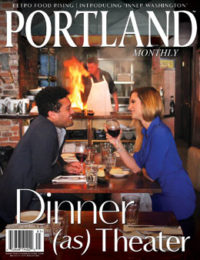 "Maine Life 15 Maine Classics 25 Concierge 31 Chowder 33 Portland After Dark ""Dinner Is The Show"" You'll know the Recession's over when you order flambé. By Colin W. Sargent […]<!-- AddThis Sharing Buttons below --><!-- AddThis Sharing Buttons below -->"