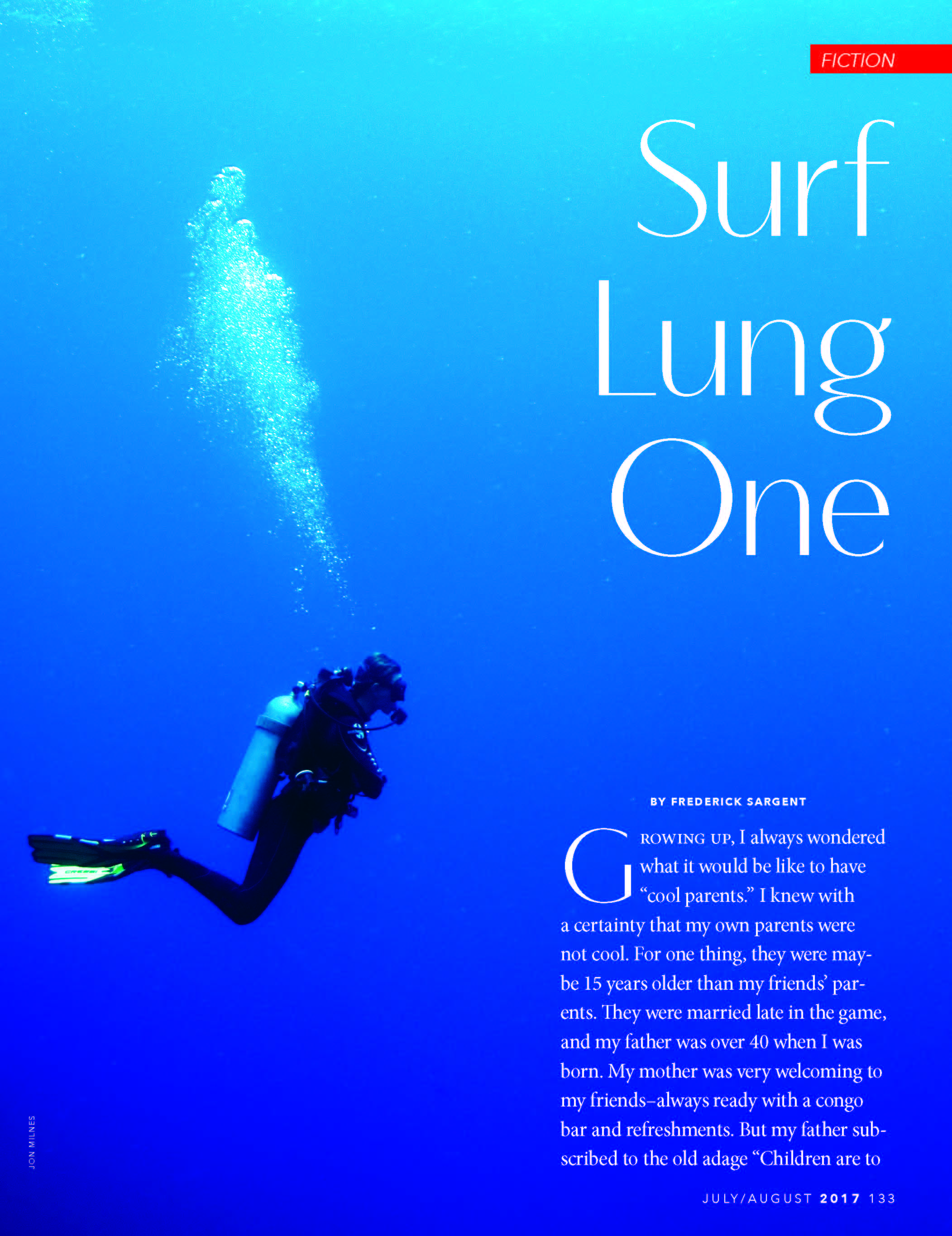 Surf Lung One - July/August 2017 Fiction