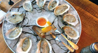 """December 2018 A new restaurant, The Maine Oyster Company, sparkles with the gems of Maine's waters.<!-- AddThis Sharing Buttons below --><!-- AddThis Sharing Buttons below -->                 <div class=""""addthis_toolbox addthis_default_style addthis_"""" addthis:url='http://www.portlandmonthly.com/portmag/2018/11/maine-oyster-company/' addthis:title='Maine Oyster Company' >                     <a class=""""addthis_button_preferred_1""""></a>                     <a class=""""addthis_button_preferred_2""""></a>                     <a class=""""addthis_button_preferred_3""""></a>                     <a class=""""addthis_button_preferred_4""""></a>                     <a class=""""addthis_button_compact""""></a>                     <a class=""""addthis_counter addthis_bubble_style""""></a>                 </div>"""