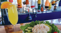 """The flavors at Arundel Wharf Restaurant are a tribute to Maine. By Colin W. Sargent<!-- AddThis Sharing Buttons below --><!-- AddThis Sharing Buttons below -->                 <div class=""""addthis_toolbox addthis_default_style addthis_"""" addthis:url='http://www.portlandmonthly.com/portmag/2019/07/home-port-2/' addthis:title='Home Port' >                     <a class=""""addthis_button_preferred_1""""></a>                     <a class=""""addthis_button_preferred_2""""></a>                     <a class=""""addthis_button_preferred_3""""></a>                     <a class=""""addthis_button_preferred_4""""></a>                     <a class=""""addthis_button_compact""""></a>                     <a class=""""addthis_counter addthis_bubble_style""""></a>                 </div>"""
